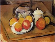 Cézanne (Naturaleza muerta)