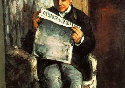 El padre de Cézanne
