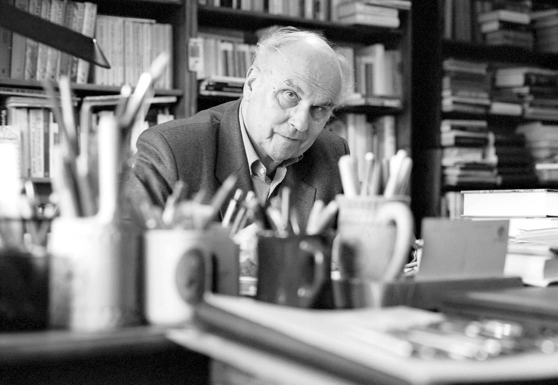 Ryszard Kapuscinsky en su casa de Varsovia // Fotografía: PAP-Photoshot