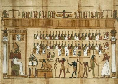 02 Papiro egipcio XXVI Dinastía