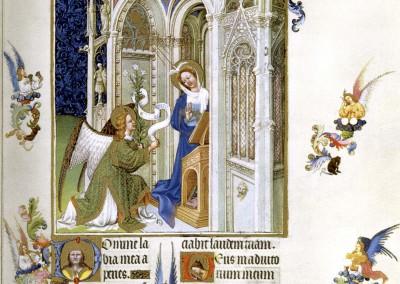 08 Hermanos Limbourg (Anunciación)