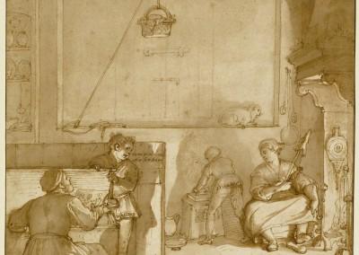 15 Taddeo en la Cámara de Giovanni- Zuccaro