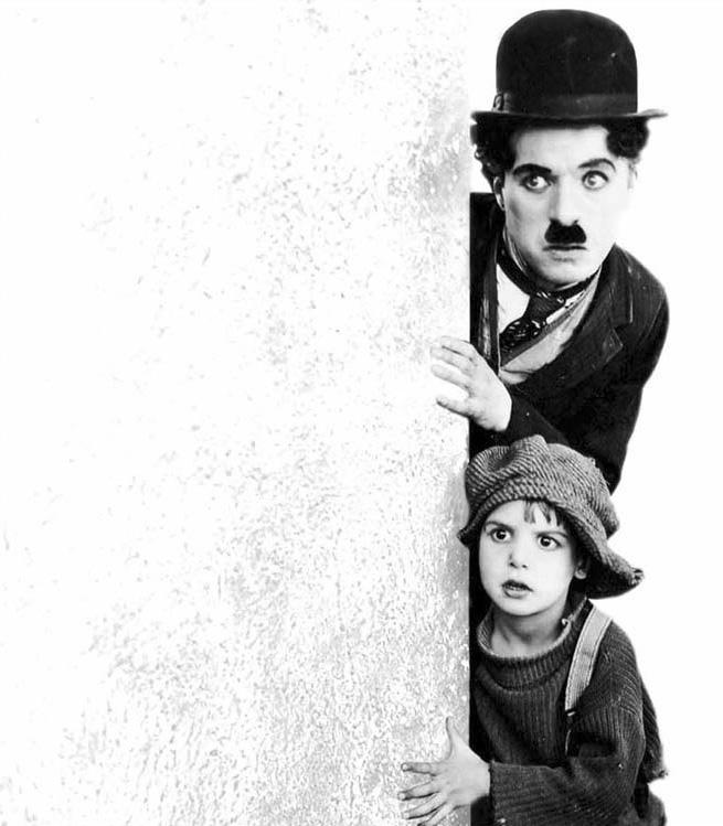 Charlot y el niño