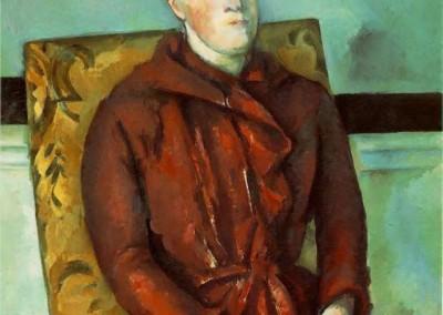 Madame Cézanne (Rojo)