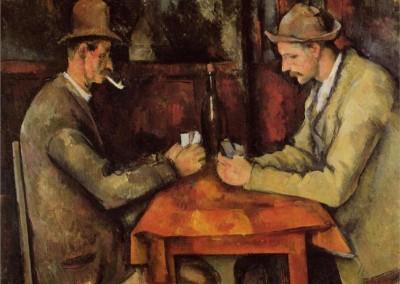 Los jugadores de cartas (1896)