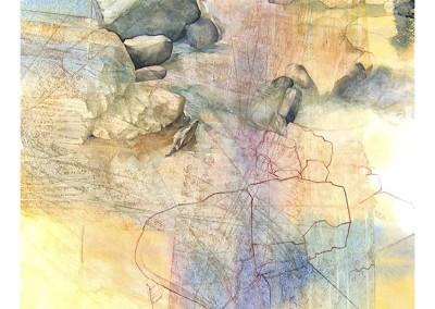Arroyo de montaña - Alberto De Burgos