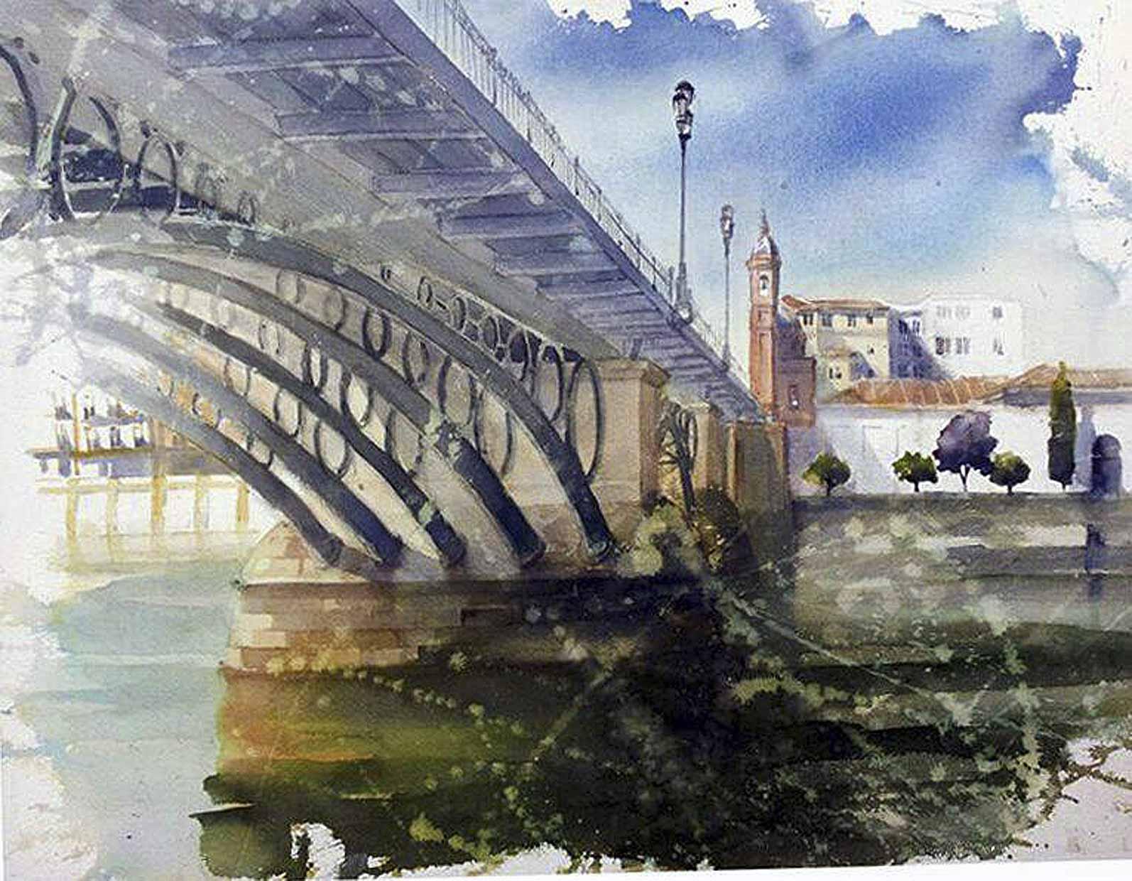 Manuel Blandón - Puente de Triana (Sevilla)