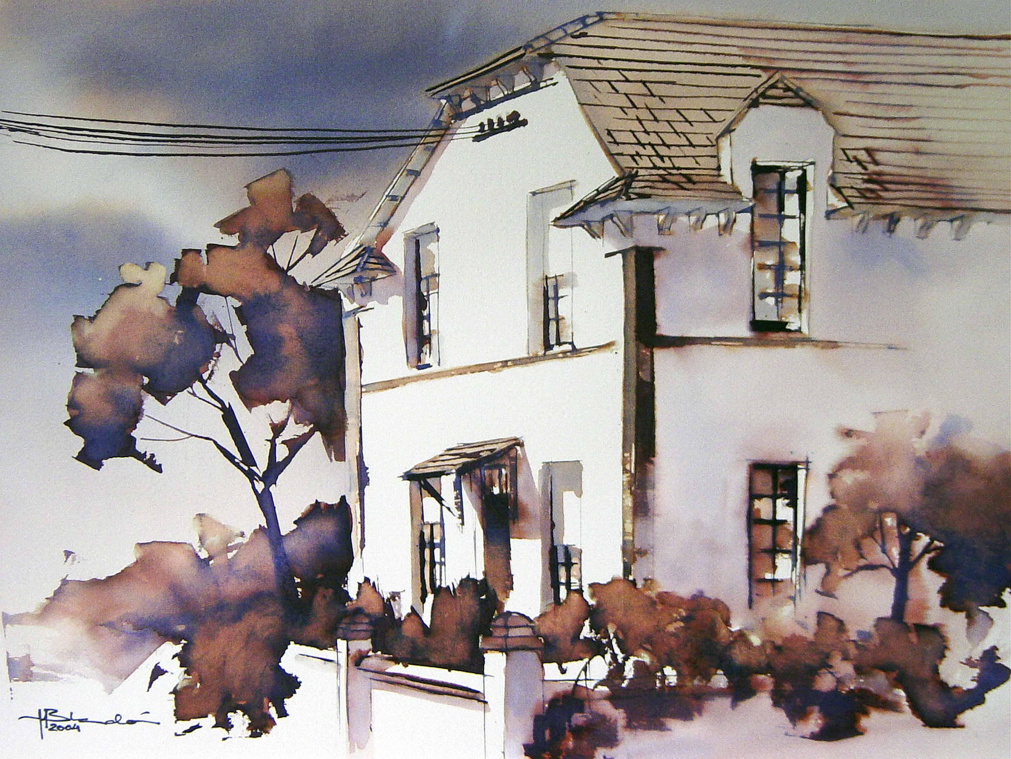 Manuel Blandón - Casa del barrio inglés (Huelva)