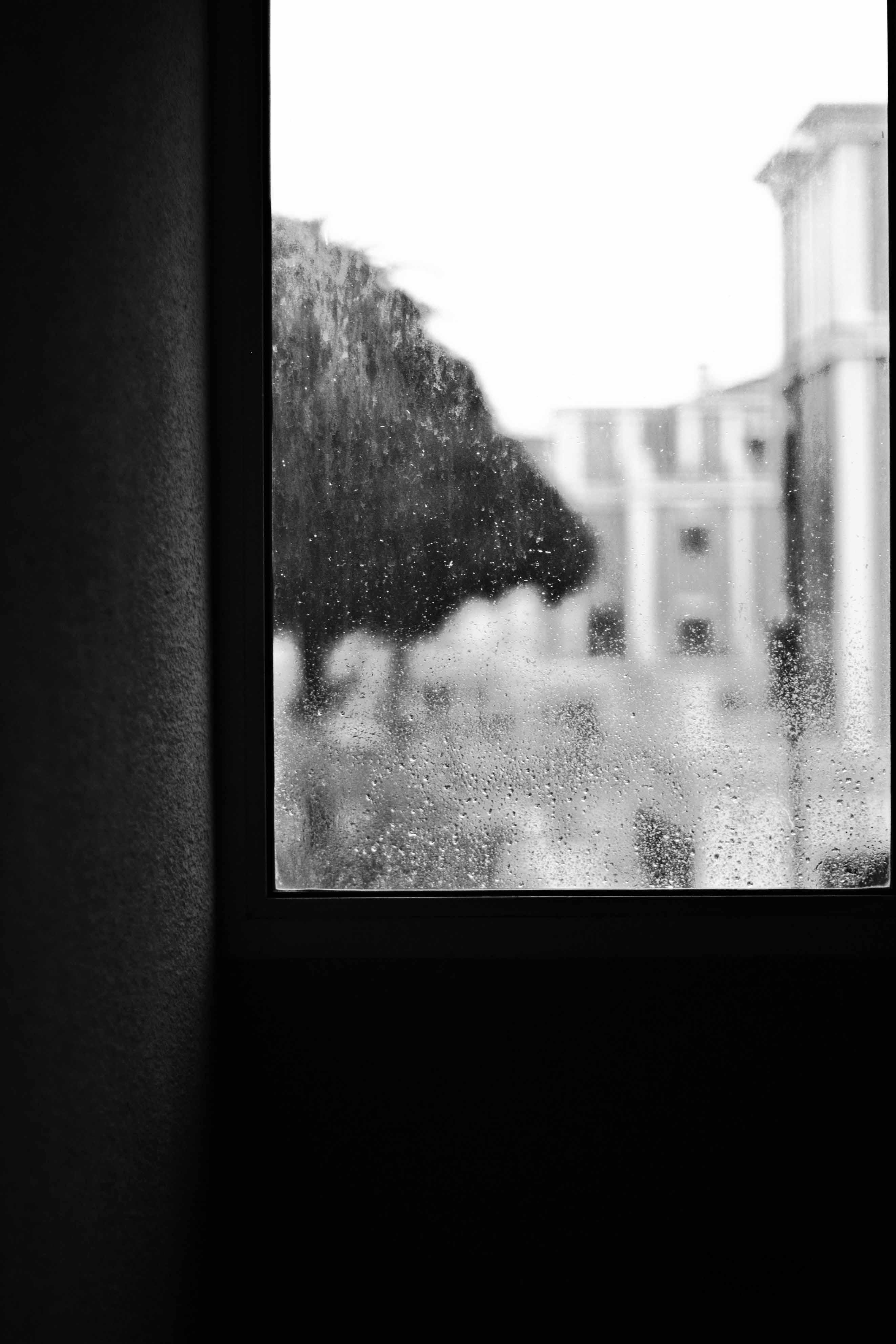4 Ventana en día de lluvia
