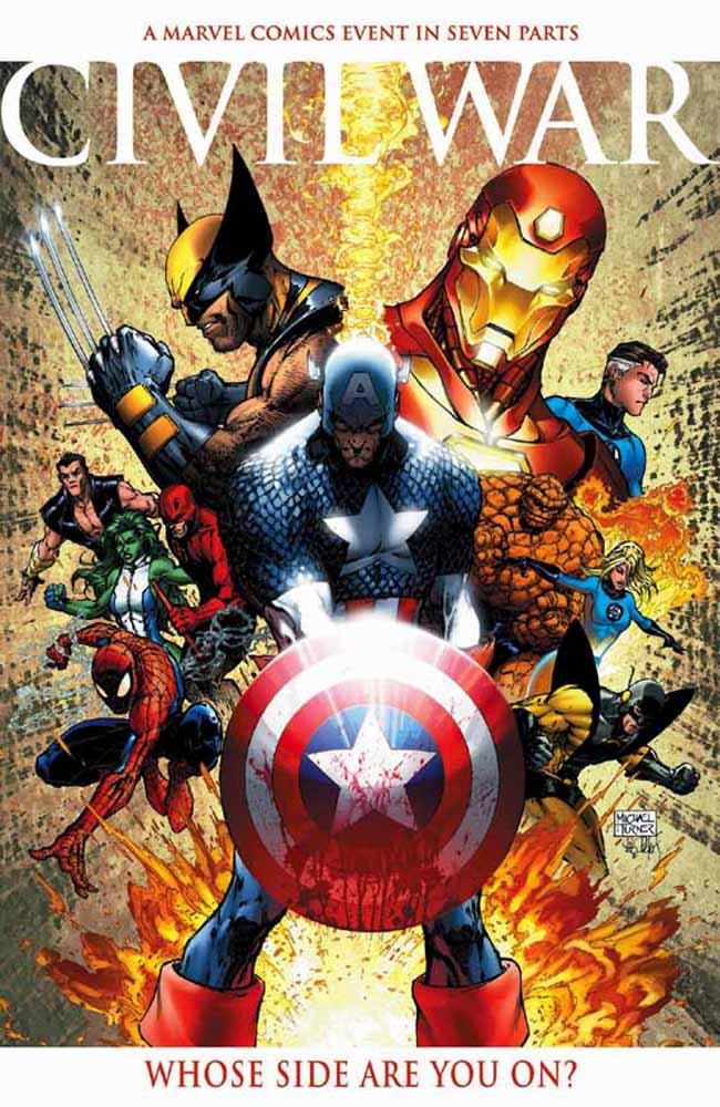 Civil War, de Marvel