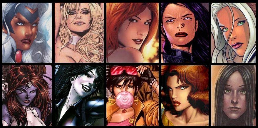 Personajes femeninos de X-Men
