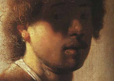 Rembrandt autorretrato 1627