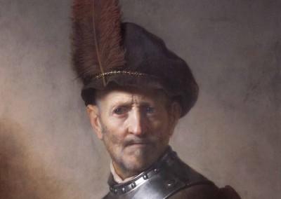 Viejo con ropas militares (1630)