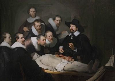 Lección de anatomia del doctor Tulp (1632)