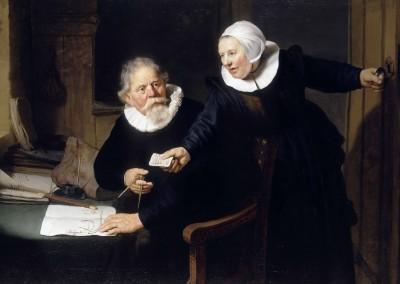 Jan Rijcksen y su mujer Griet Jans (1633)