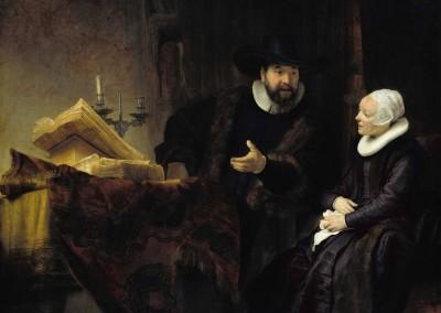 El predicador menonita y su mujer (1641)