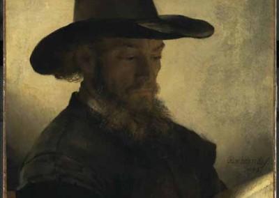 Hombre leyendo (1648)