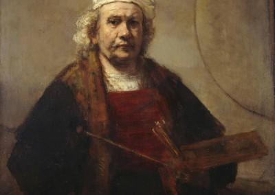 Rembrandt Autorretrato 1661