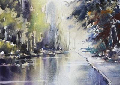 Nemesio Rubio - A la orilla del río