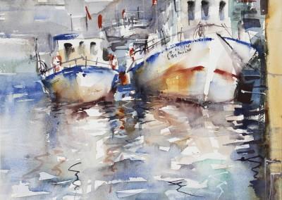 Nemesio Rubio - Barcos en el Algarve