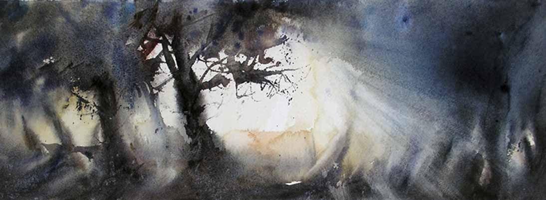 Luz entre las encinas - Nemesio Rubio