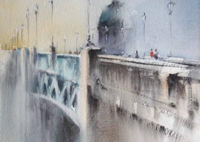 Nemesio Rubio - Paseando por el puente