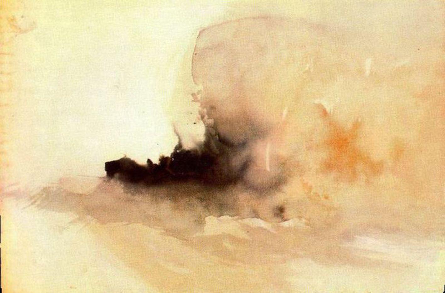 Turner - Barco ardiendo