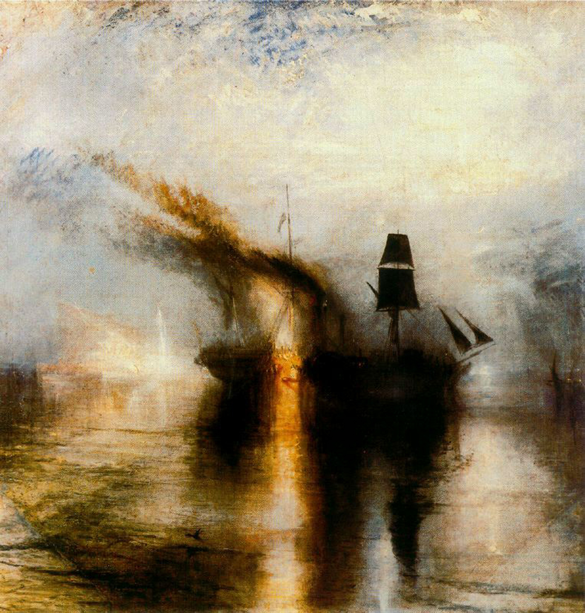 Turner - Exequias en el mar