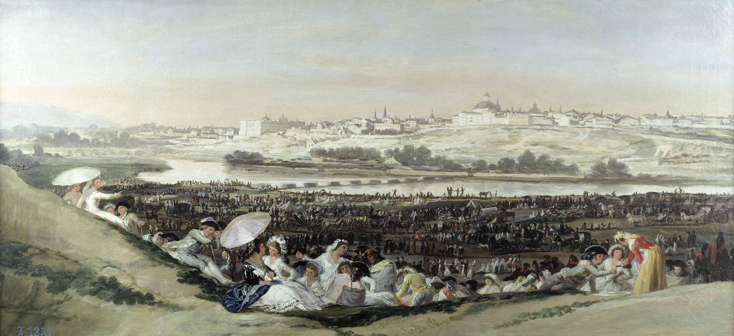 Pradera de San Isidro - Goya