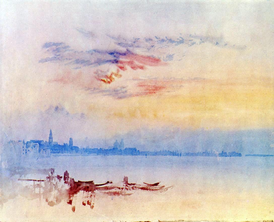 Turner - Vista hacia el oriente