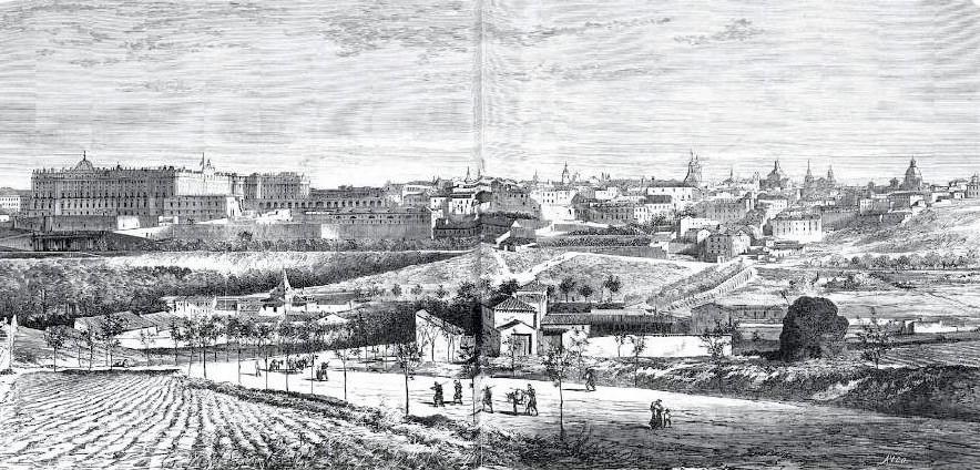 Cornisa de Madrid - 1865