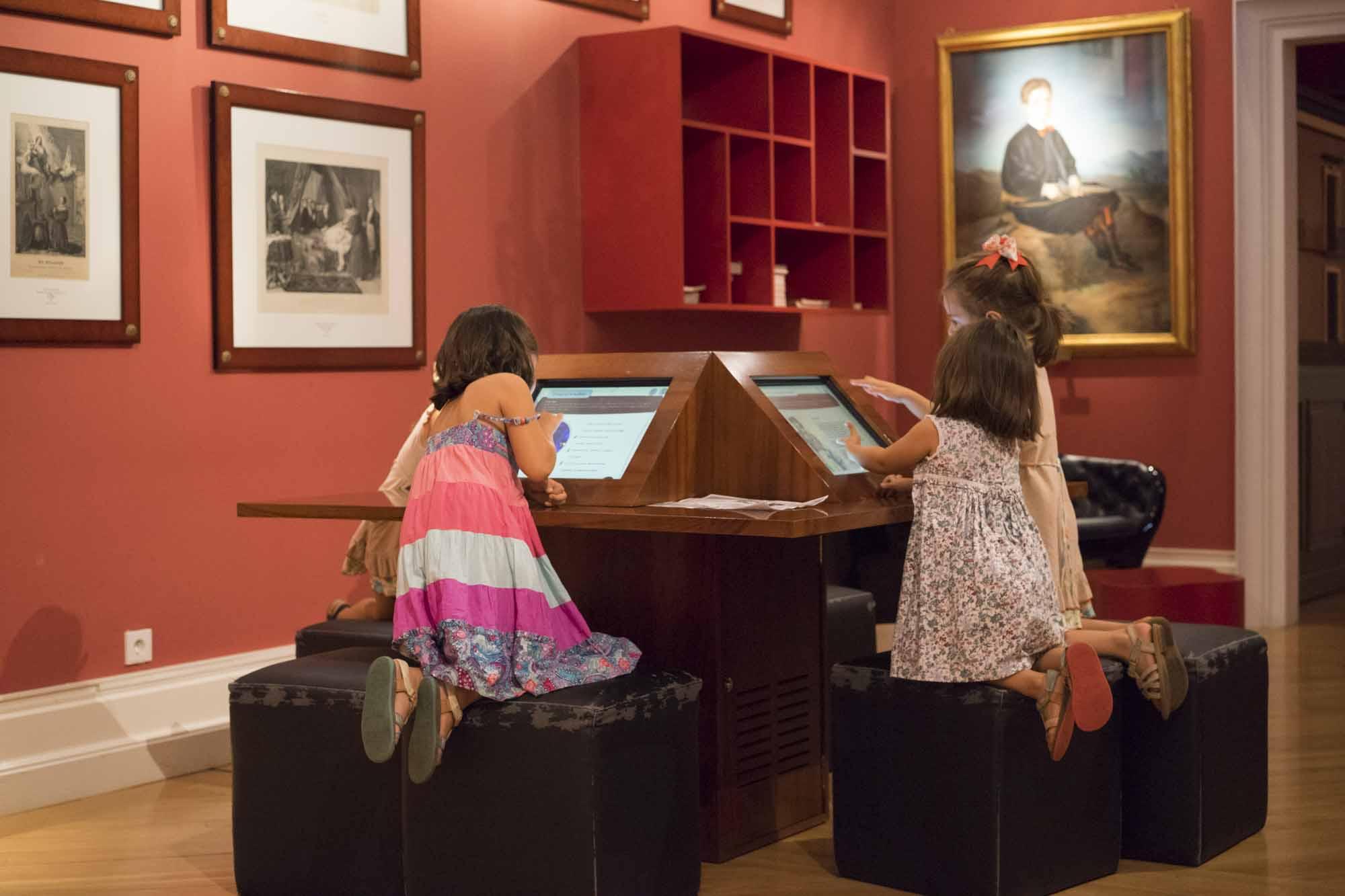 Niños en el Museo del Romanticismo