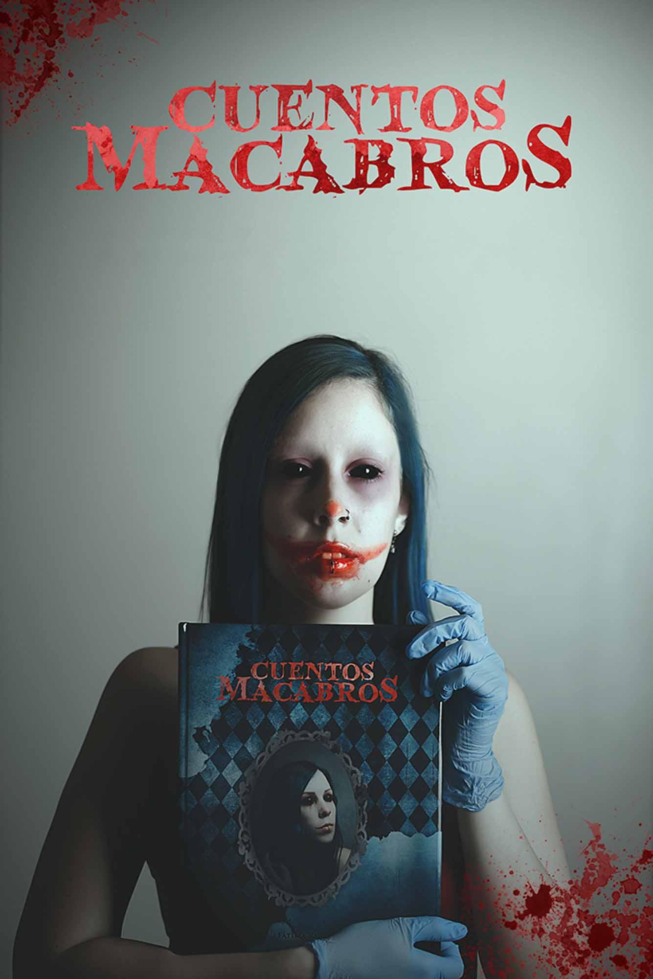 Fátima Ruiz - Portada Cuentos Macabros
