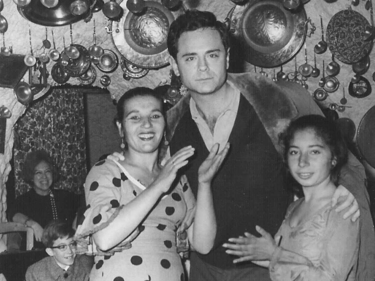 Francisco Ferrer Lerín en el Sacromonte 1967