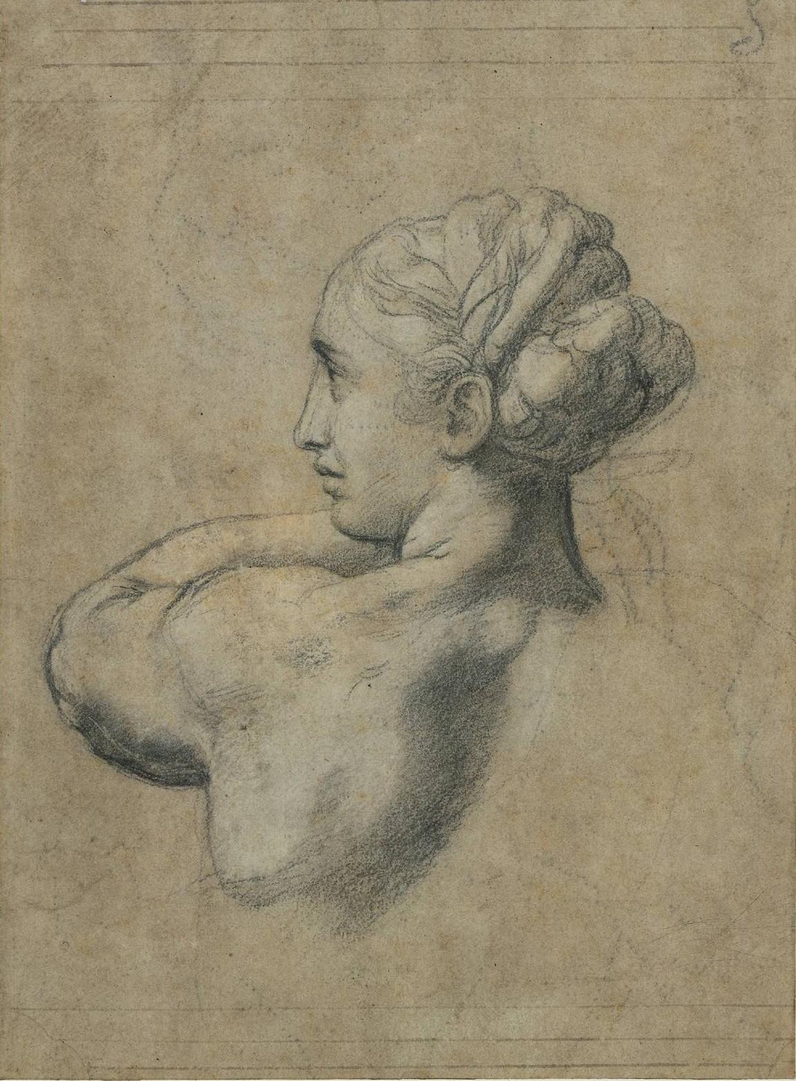 Cabeza de mujer - Rafael