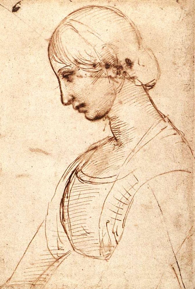 Retrato de una joven - rafael