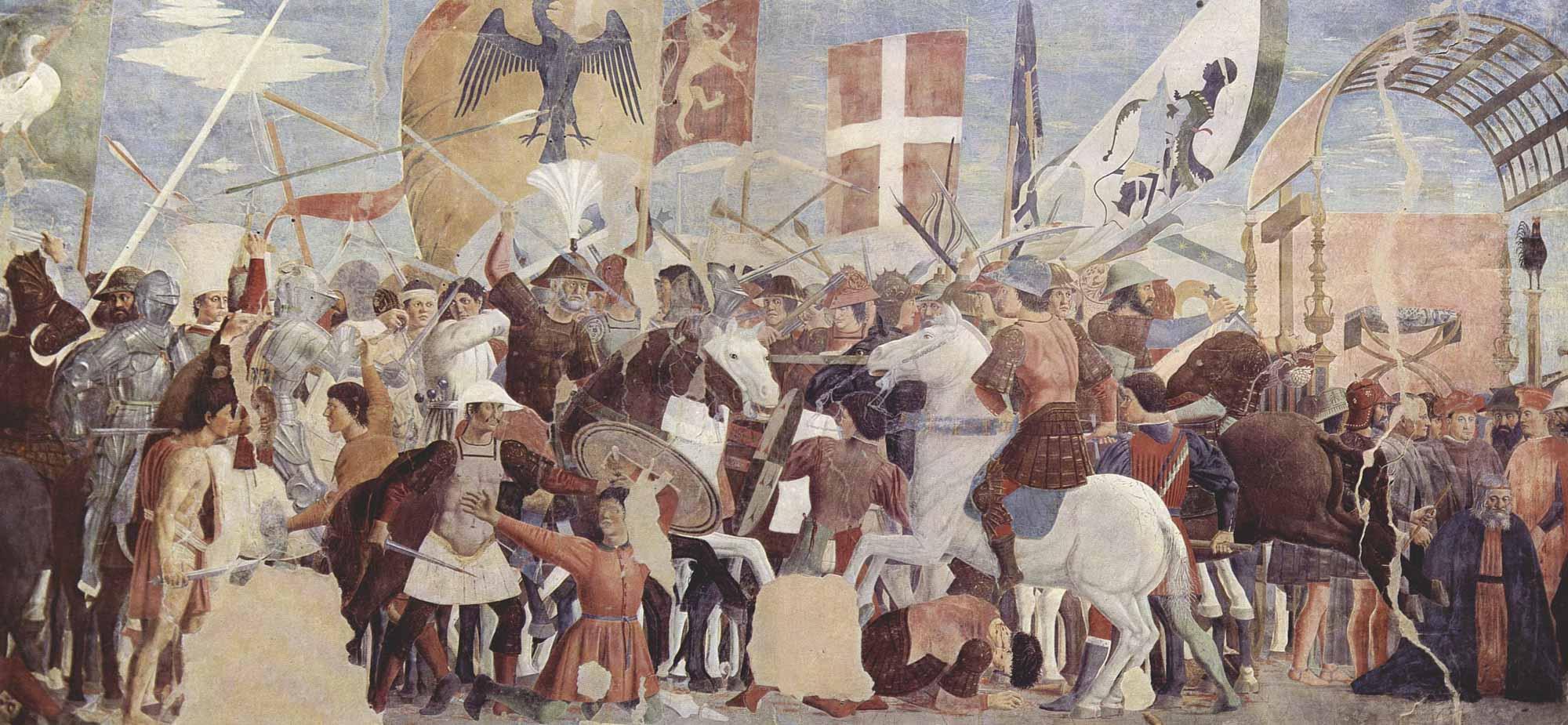 El cristo de la Vera Cruz, de Piero della Francesca