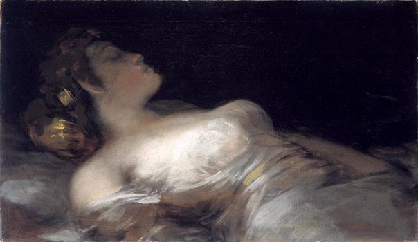 El sueño, de Goya