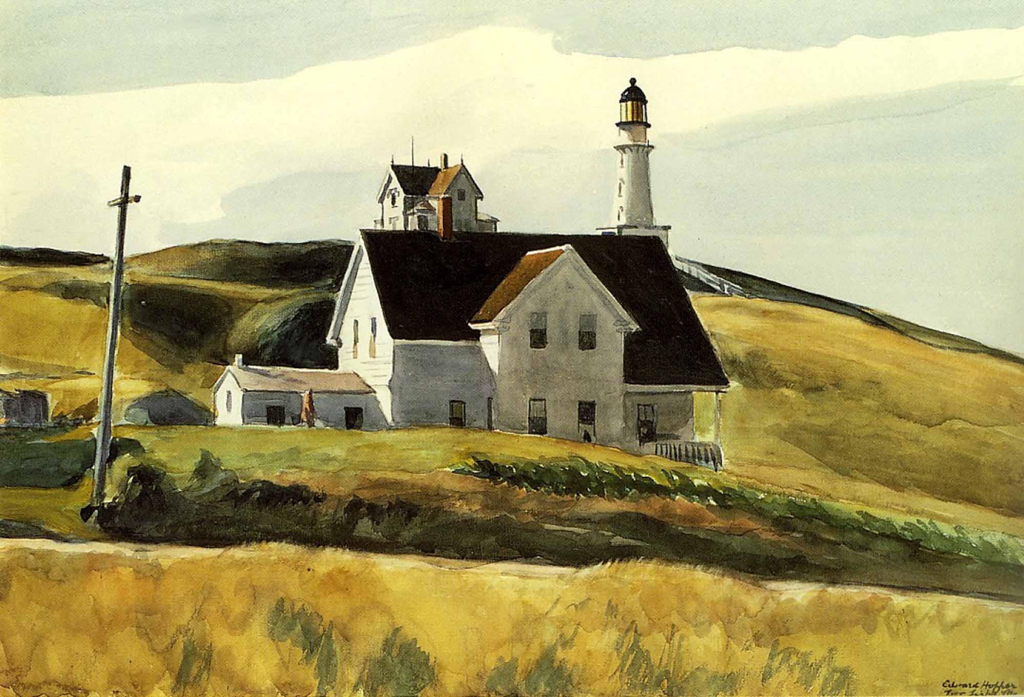 Un faro de Hopper
